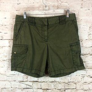 Women's J. Crew Chino Classic Twill Shorts Size 6